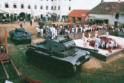 100. aktion6-tagespiel in prinzendorf 1998; Foto: Archiv Cibulka-Frey