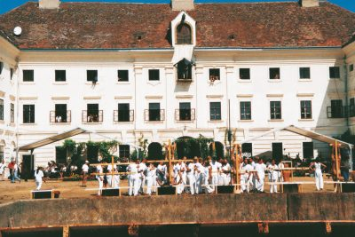 100. aktion |6-tagespiel in prinzendorf 1998; Foto: Archiv Cibulka-Frey