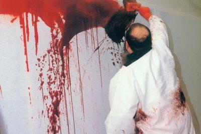 20. malaktion, wiener secession 1987 foto: liesl biber