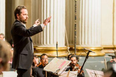 Dirigent Andrea Cusumano Foto: Michel Blancsubé
