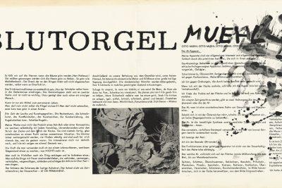 Blutorgelmanifest, Seite 1