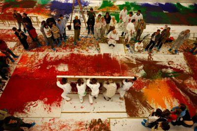 56. Malaktion, mzm (nitsch museum), 2009 Foto: team:niel (Daniel Feyerl)