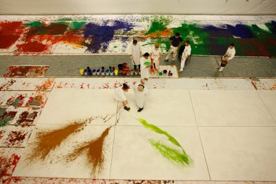 56. Malaktion, mzm (nitsch museum), 2009