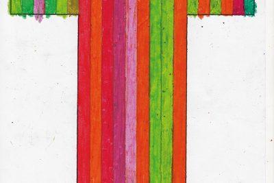 """Kostümentwurf """"Saint Francois d'Assise"""", Bayrische Staatsoper, 2011"""