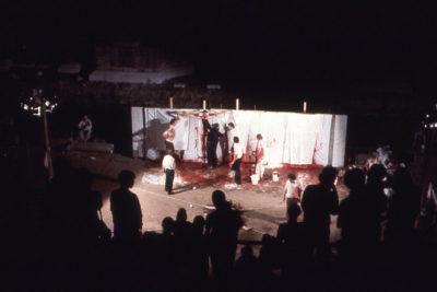 63. Aktion in Trieste, 1978; ©Fondazione Morra