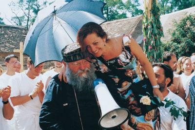 Rita und Hermann Nitsch bei der 100, Aktion, 6 Tage Spiel; Foto Archiv Cibulka-Frey