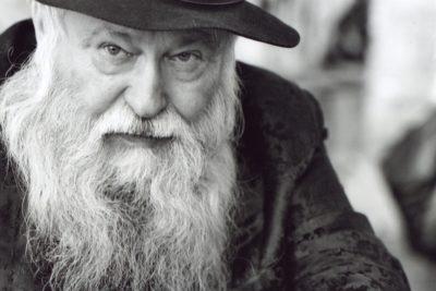Hermann Nitsch Portrait Foto: Erika Schmid