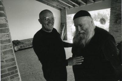 Pepe Morra und Hermann Nitsch Foto: Erika Schmid